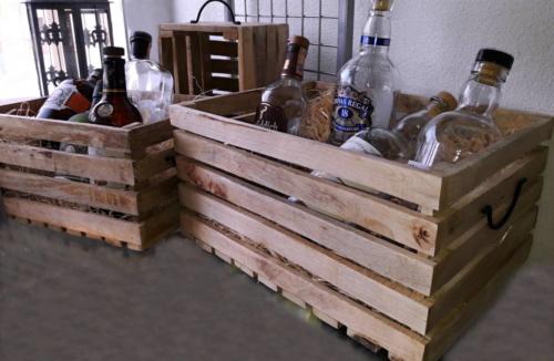 Bedničky drevené set 3 ks
