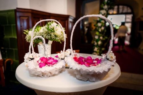 Košíky na lupene