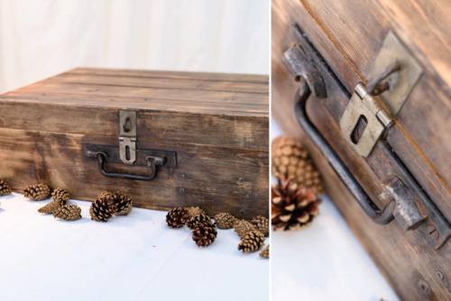 Kufor drevený