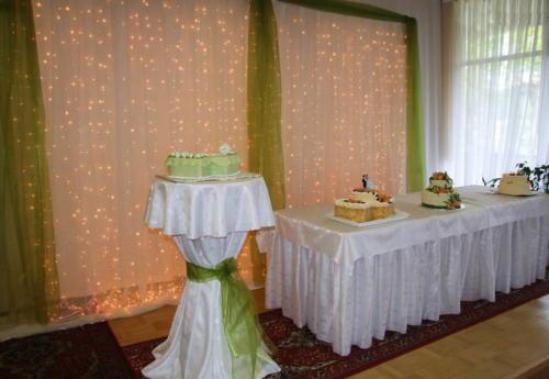 Stôl cateringový rovný skladací